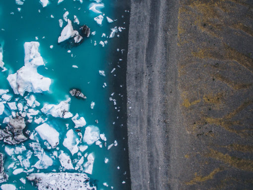 Fly Through The Iceland (Drone)